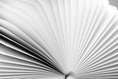 Pista de nota blanca Foto de archivo libre de regalías