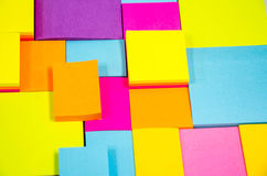 Pista de nota colorida Imagen de archivo libre de regalías