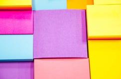 Pista de nota colorida Foto de archivo libre de regalías