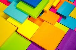 Pista de nota colorida Fotos de archivo libres de regalías