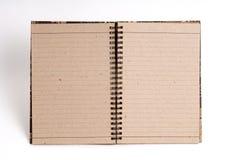 Pista de nota en blanco Imagen de archivo