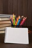 Pista de nota en blanco Imagen de archivo libre de regalías
