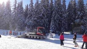 Pista de oruga de la nieve de Vitosha