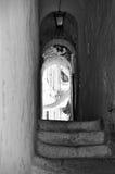 Pista de Ostuni com vaults Imagens de Stock