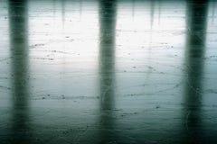 pista de patinagem do gelo Fotografia de Stock