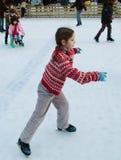 Pista de patinaje Fotos de archivo