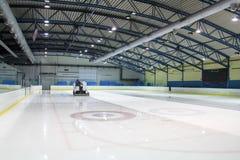 Pista de patinaje de hielo imagen de archivo