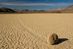 Pista de raza de Death Valley Imagen de archivo libre de regalías
