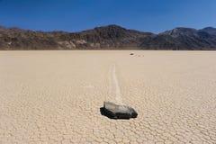 Pista de raza de Death Valley horisontal Fotografía de archivo libre de regalías