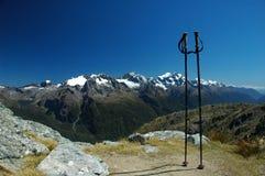 Pista de Routeburn, Nueva Zelandia Fotografía de archivo
