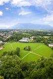 Pista de Salzburg Imagen de archivo libre de regalías