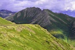 Pista de senderismo Alaska Imagenes de archivo