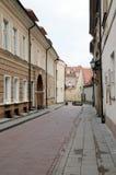 Pista de uma cidade velha Fotos de Stock Royalty Free