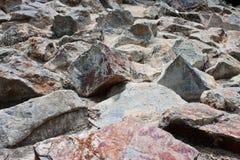 Pista de una piedra Fotografía de archivo libre de regalías