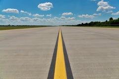Pista del aeropuerto Imagenes de archivo