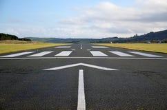 Pista del aeropuerto Foto de archivo libre de regalías