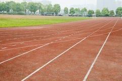 Pista del atletismo fotos de archivo libres de regalías
