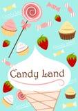 Pista del caramelo Fotos de archivo