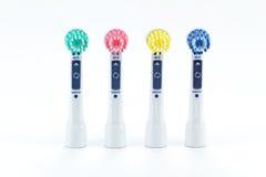 Pista del cepillo de dientes eléctrico Imagen de archivo libre de regalías