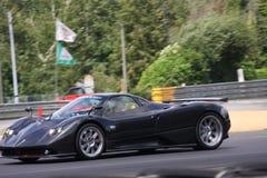 Pista del circuito della vettura da corsa di Le Mans immagine stock