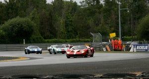 Pista del circuito della vettura da corsa di Le Mans fotografia stock libera da diritti