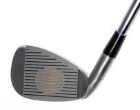 Pista del club de golf del hierro ocho Fotografía de archivo