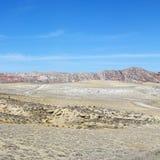 Pista del desierto en Utah. Fotos de archivo libres de regalías