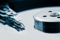 Pista del disco duro Fotos de archivo libres de regalías
