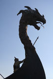 Pista del dragón Imagenes de archivo