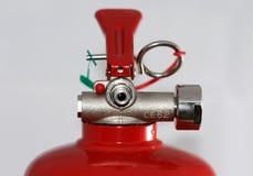 Pista del extintor Imagen de archivo libre de regalías