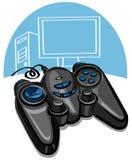 Pista del juego Imagen de archivo
