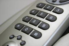 Pista del número de teléfono sin hilos Imagen de archivo libre de regalías