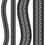 Pista del neumático ilustración del vector