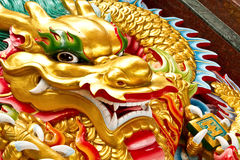 Pista del oro del dragón fotografía de archivo libre de regalías