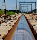 Pista del tren Imagen de archivo
