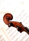 Pista del violín Fotos de archivo