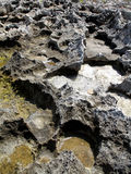 Pista del volcán Fotografía de archivo