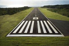 Pista dell'aeroplano. Fotografie Stock