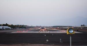 Pista dell'aeroporto Immagini Stock Libere da Diritti