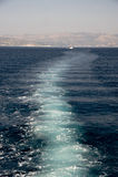 Pista della nave Fotografia Stock Libera da Diritti