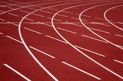 Pista di atletismo Immagine Stock