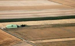 Pista di atterraggio dell'erba Fotografia Stock Libera da Diritti