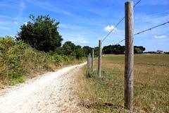 Pista di camminata rurale immagine stock