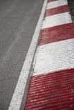 pista di corsa d'angolo dell'automobile Fotografie Stock