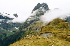Pista di Milford, Nuova Zelanda Fotografie Stock Libere da Diritti