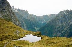Pista di Milford, Nuova Zelanda Fotografia Stock Libera da Diritti