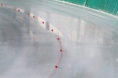 Pista di pattinaggio di ghiaccio fotografia stock libera da diritti