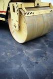 Pista di pattinaggio pattinante dell'asfalto Immagine Stock