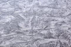 Pista di pattinaggio sul ghiaccio pattinante Fotografia Stock