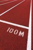 Pista di sport Fotografie Stock Libere da Diritti